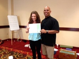 At the end of 200 hour teacher training